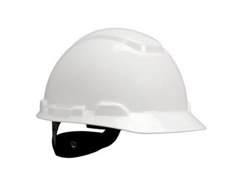 Sikkerhedshjelm H-700 standard hvid - 3M
