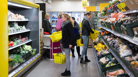 arbejde i dansk supermarked