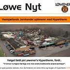Vestsjællands Jernhandel vælger Løwener i deres valg af skæremaskiner og udstyr.
