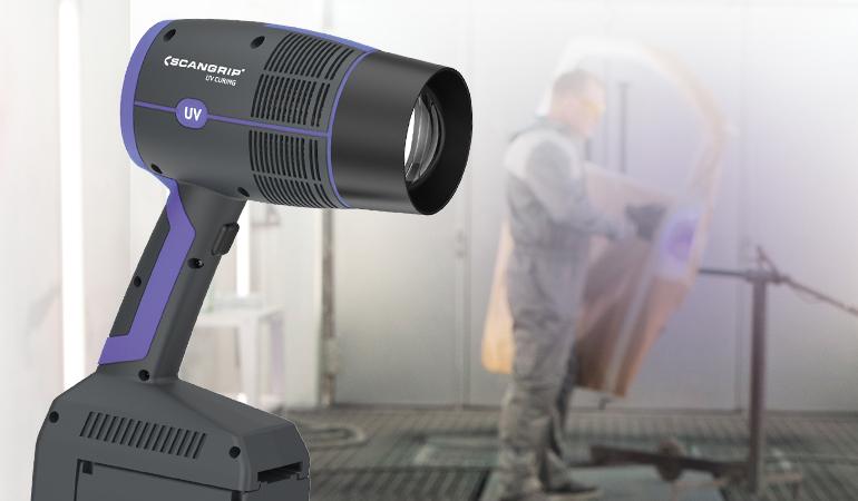 Ny håndholdt UV-GUN til ekstremt hurtigt UV-hærdning