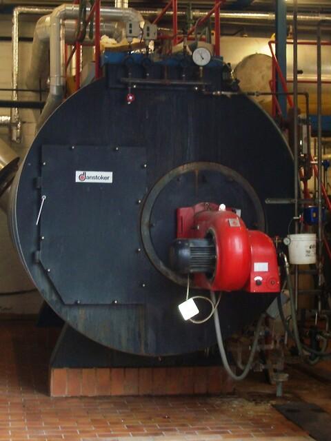 Dampkedel 4000 kg/h x 8,3 bar fra Chr. Møller A/S's Brugtbørs