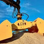 BSV grab - sandgrab - jordgrab