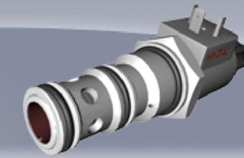 Retningsventiler hydraulisk styrt fra Hydac