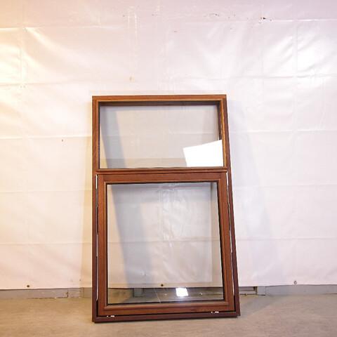 Topstyret fast vindue, træ, 009467
