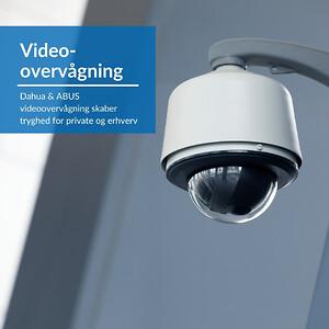 Videoovervågning skaber tryghed for private og erhverv