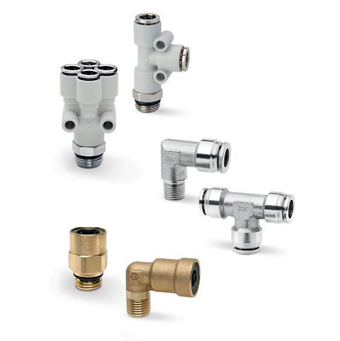 Koblinger og rør til pneumatikk og vakuum - Koblinger, rør, fittings