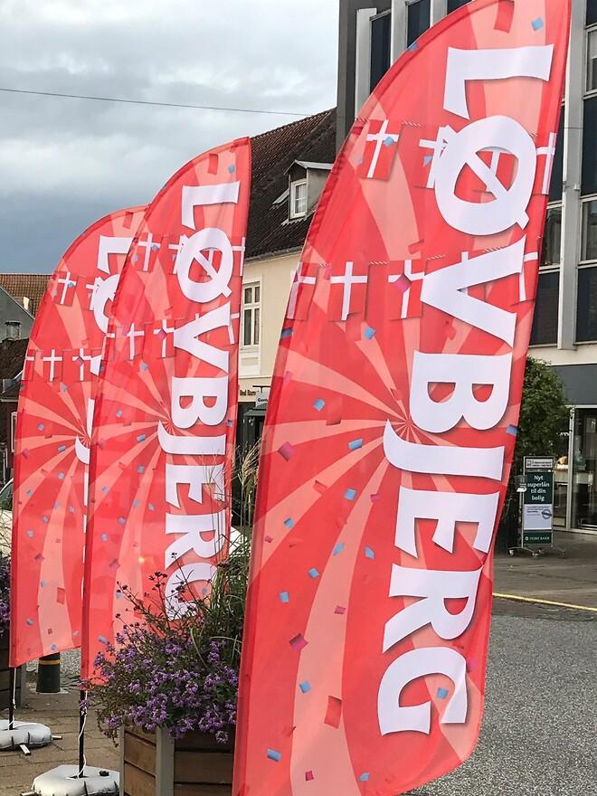 Løvbjerg Beachflag