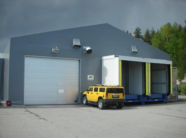 Lagerhal, telthal for forsvaret Building Supply NO