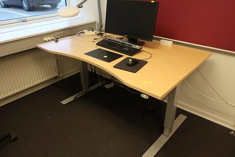 El. hæve/sænke skrivebord