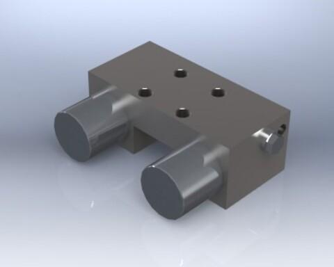 Fjærbelastet låseelement (MKS) fra Aluflex System