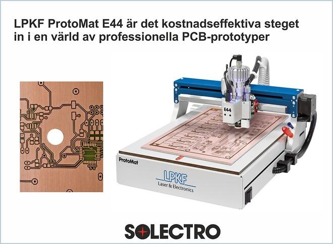 Tillverka PCB kort snabbt och enkelt.