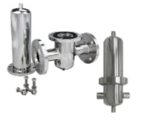 P-ED filterhuse i rustfrit stål er lavet til højt tryk - op til 25bar - P-ED filterhuse i rustfrit stål er lavet til højt tryk - op til 25bar