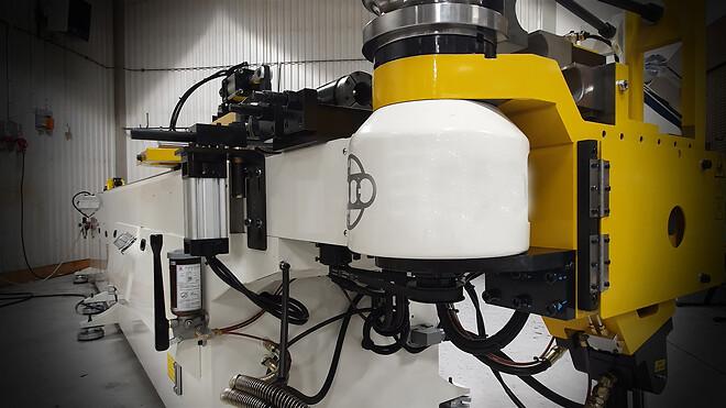 Hydroscand investerar i ny kraftfull rörbockningsmaskin