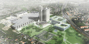 Herlev Hospital, Ventilation