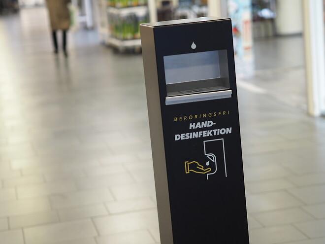 Handdesinfektionsautomat-handsprit