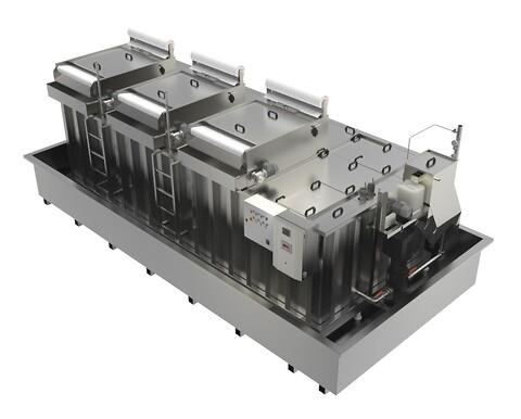 BELKI - Driftsikkert, kundetilpasset by-pass eller full-flow centralanlæg fra BELKI som indeholder flere filtrerings- og oliesepareringstrin.