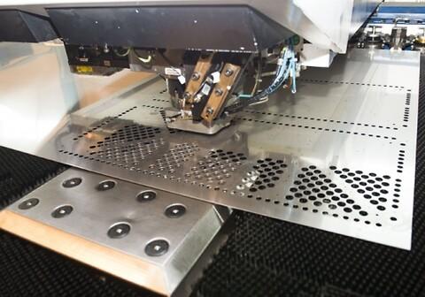Nordic Steel AS tilbyr stansing