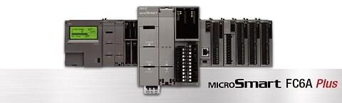 IDEC PLC med trådløs kommunikation via Bluetooth