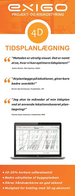 4D Tidsplanlægning og ressourcestyring