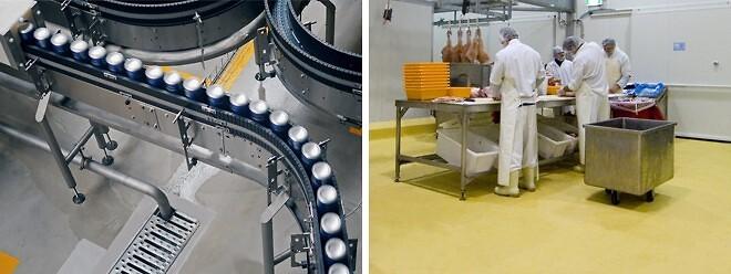 Ucrete CS - Innovativt golv till livsmedelsindustri