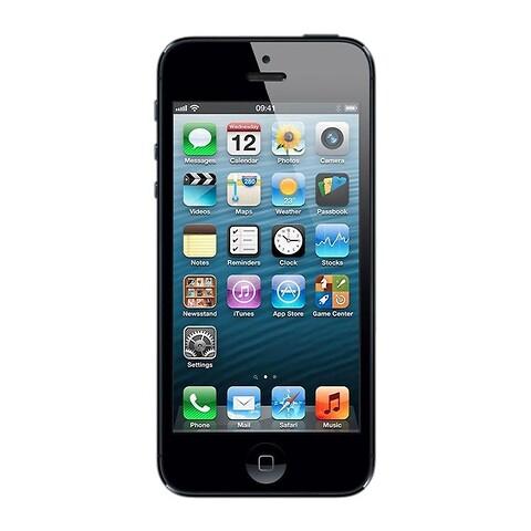 Apple iphone 5 32GB (sort) - grade c - mobiltelefon
