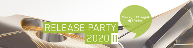Invent invitere til Release Party 2020 II