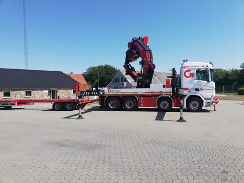 DSV Transports kraner hjælper med opgaver i højden