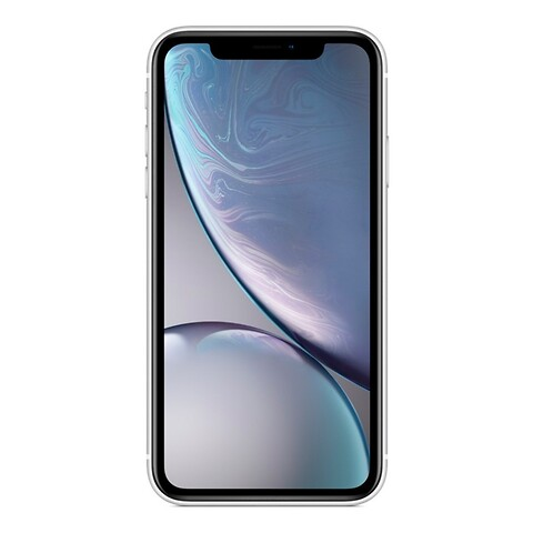 Apple iphone xr 64GB (hvid) - grade c - mobiltelefon