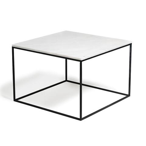 Sofabord marmor square (58702540) - metalstel b