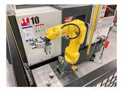 HAAS  ST-10Y inkl. robot
