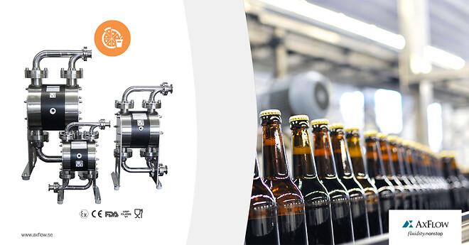 Hygienisk pumplösning för livsmedels- och dryckesindustrin med Almatec MM-serie