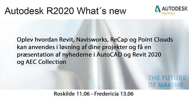 Autodesk What´s new R2020 & ERFA