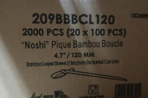 6000 stk. bambusspyd med knude firstpack 209BBBCL120