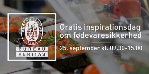 Invitation til fødevarevirksomheder | Gratis inspirationsdag om fødevaresikkerhed