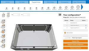 Konfigurer dine kapslinger og prisforespørgsler online