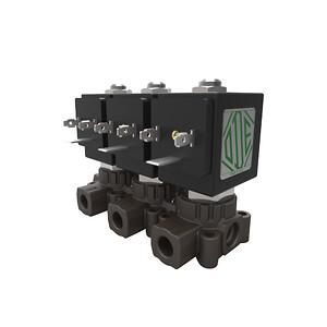 AM modularmagnetventil blok, KH-Technic, ODE