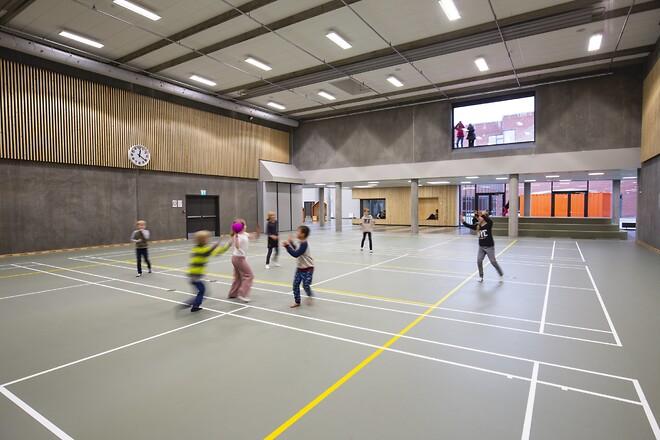 Lindbjergskolen - Årets skolebyggeri 2020 - Nohrcon. Kilde: Sweco / Årstiderne arkitekter