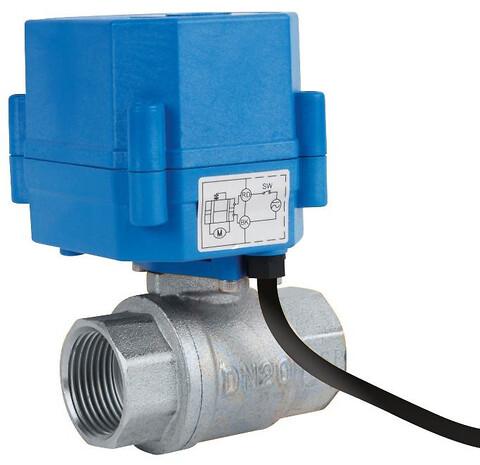 Kuglehane inkl. elektrisk aktuator - Type 5660 kuglehane med elektrisk aktuator