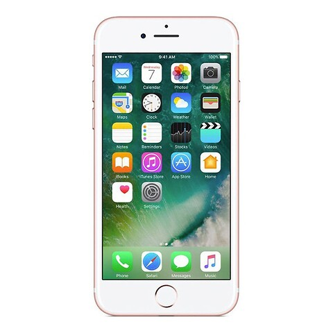 Apple iPhone 7 32GB (Rosaguld) - Grade C - mobiltelefon