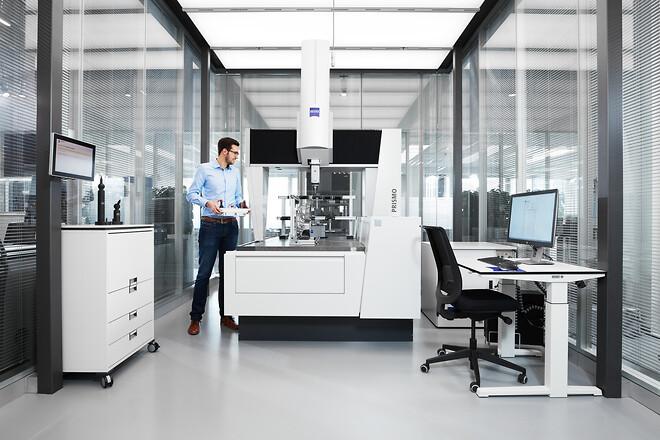 ZEISS Maskin- og programvarevedlikehold, CMM, måleresultater