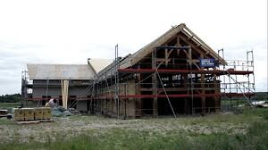 En vikingeborg med vindspærre. - Building Supply DK