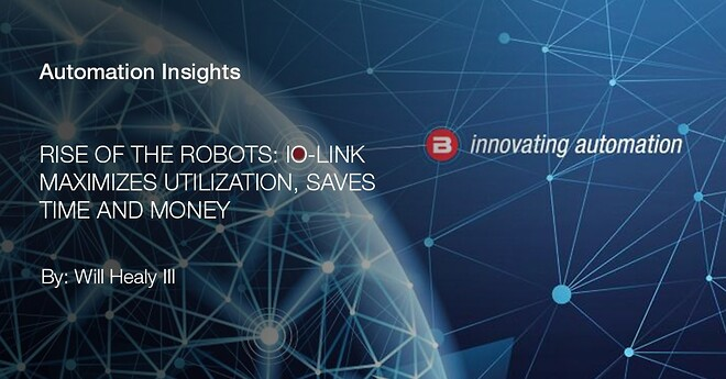 IO-link, automation, Balluff