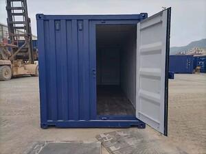 20-fods container med ekstra dør