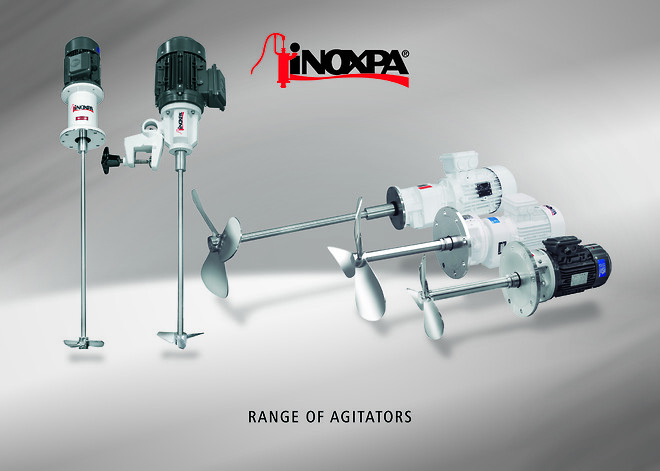INOXPA røreværker.