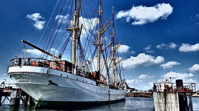 Skoleskibet `Danmark` vil afsted igen til juni