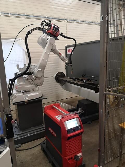 Service vid akuta fel - ABB robotar - slitdelar/reservdelar