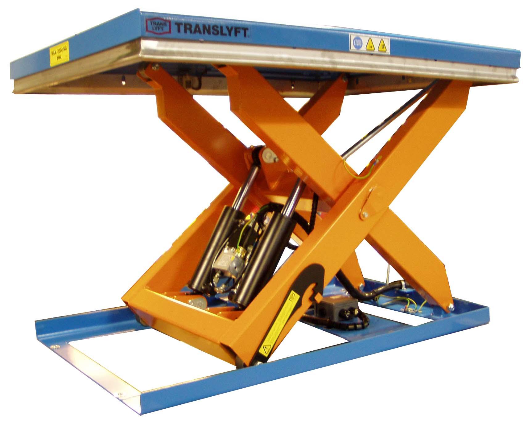 ATEX Løfteborde fra TRANSLYFT ERGO A/S - Metal Supply DK