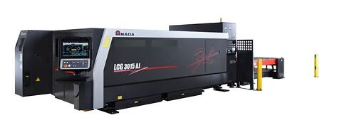 Begagnad AMADA LCG AJ 4kW Fiber Laser