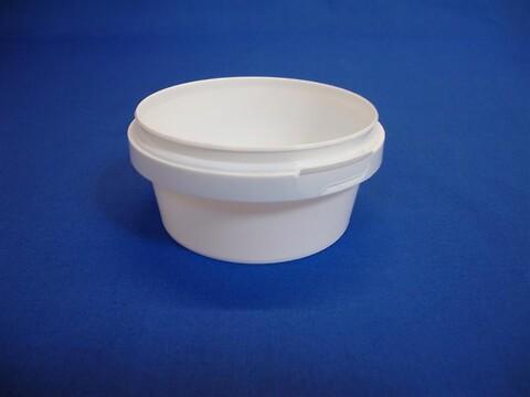 Plastbøtte 5015 - 180 ml. - hvid