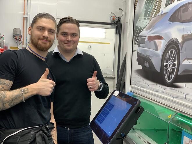 Christopher Bülow och Rasmus Selander, Upplands Motor